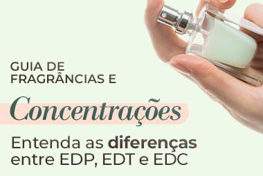 Entenda a diferença entre Eau de Parfum, Eau de Toilette e Eau de Cologne
